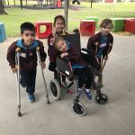 crutches and wheelchair IT JF MJ EdO