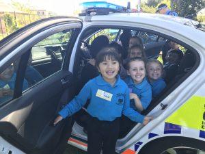 in police car TN MO EA